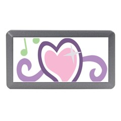 Sweetie Belle s Love Heart Star Music Note Green Pink Purple Memory Card Reader (mini)