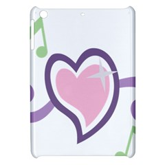 Sweetie Belle s Love Heart Star Music Note Green Pink Purple Apple Ipad Mini Hardshell Case by Alisyart