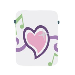 Sweetie Belle s Love Heart Star Music Note Green Pink Purple Apple Ipad 2/3/4 Protective Soft Cases