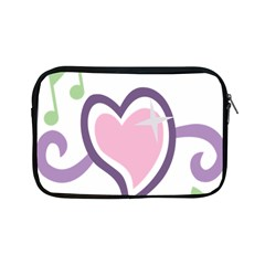 Sweetie Belle s Love Heart Star Music Note Green Pink Purple Apple Ipad Mini Zipper Cases