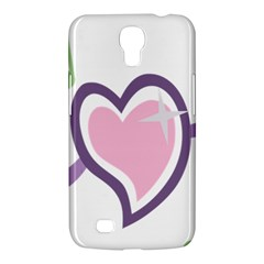 Sweetie Belle s Love Heart Star Music Note Green Pink Purple Samsung Galaxy Mega 6 3  I9200 Hardshell Case