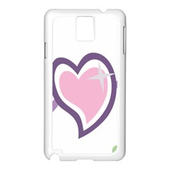 Sweetie Belle s Love Heart Star Music Note Green Pink Purple Samsung Galaxy Note 3 N9005 Case (white)
