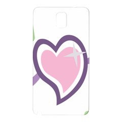 Sweetie Belle s Love Heart Star Music Note Green Pink Purple Samsung Galaxy Note 3 N9005 Hardshell Back Case