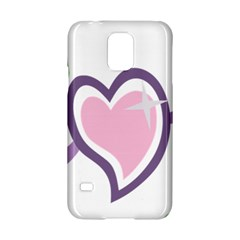Sweetie Belle s Love Heart Star Music Note Green Pink Purple Samsung Galaxy S5 Hardshell Case