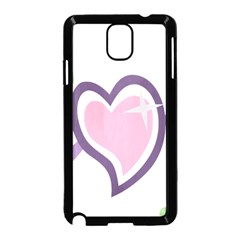 Sweetie Belle s Love Heart Star Music Note Green Pink Purple Samsung Galaxy Note 3 Neo Hardshell Case (black)