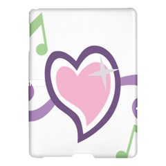 Sweetie Belle s Love Heart Star Music Note Green Pink Purple Samsung Galaxy Tab S (10 5 ) Hardshell Case  by Alisyart
