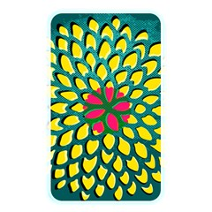 Sunflower Flower Floral Pink Yellow Green Memory Card Reader by Alisyart