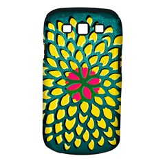 Sunflower Flower Floral Pink Yellow Green Samsung Galaxy S Iii Classic Hardshell Case (pc+silicone) by Alisyart