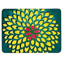 Sunflower Flower Floral Pink Yellow Green Samsung Galaxy Tab 7  P1000 Flip Case