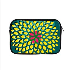 Sunflower Flower Floral Pink Yellow Green Apple Macbook Pro 15  Zipper Case by Alisyart