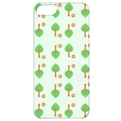Tree Circle Green Yellow Grey Apple Iphone 5 Classic Hardshell Case