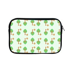 Tree Circle Green Yellow Grey Apple Ipad Mini Zipper Cases by Alisyart