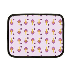 Tree Circle Purple Yellow Netbook Case (small)  by Alisyart
