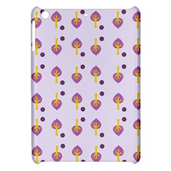 Tree Circle Purple Yellow Apple Ipad Mini Hardshell Case by Alisyart