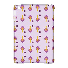Tree Circle Purple Yellow Apple Ipad Mini Hardshell Case (compatible With Smart Cover) by Alisyart