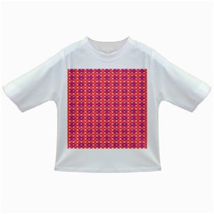 Roll Circle Plaid Triangle Red Pink White Wave Chevron Infant/toddler T Shirts by Alisyart