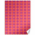 Roll Circle Plaid Triangle Red Pink White Wave Chevron Canvas 36  x 48   48 x36 Canvas - 1