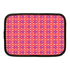 Roll Circle Plaid Triangle Red Pink White Wave Chevron Netbook Case (medium)