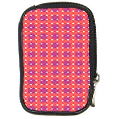 Roll Circle Plaid Triangle Red Pink White Wave Chevron Compact Camera Cases