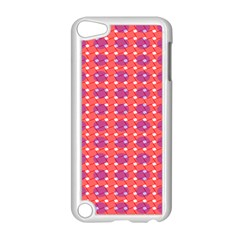 Roll Circle Plaid Triangle Red Pink White Wave Chevron Apple Ipod Touch 5 Case (white)