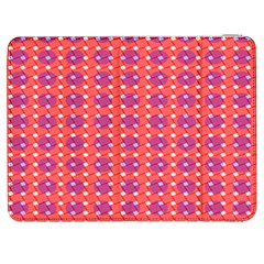Roll Circle Plaid Triangle Red Pink White Wave Chevron Samsung Galaxy Tab 7  P1000 Flip Case by Alisyart