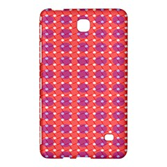 Roll Circle Plaid Triangle Red Pink White Wave Chevron Samsung Galaxy Tab 4 (8 ) Hardshell Case  by Alisyart