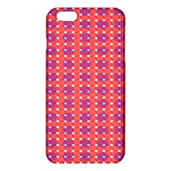 Roll Circle Plaid Triangle Red Pink White Wave Chevron Iphone 6 Plus/6s Plus Tpu Case by Alisyart