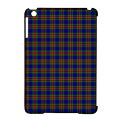 Tartan Fabrik Plaid Color Rainbow Apple Ipad Mini Hardshell Case (compatible With Smart Cover)