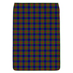 Tartan Fabrik Plaid Color Rainbow Flap Covers (l)  by Alisyart