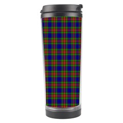 Tartan Fabrik Plaid Color Rainbow Travel Tumbler