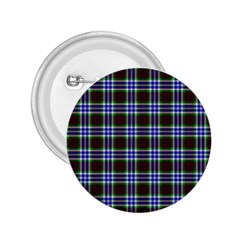 Tartan Fabrik Plaid Color Rainbow Triangle 2 25  Buttons by Alisyart