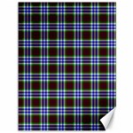 Tartan Fabrik Plaid Color Rainbow Triangle Canvas 36  x 48   48 x36  Canvas - 1