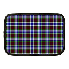 Tartan Fabrik Plaid Color Rainbow Triangle Netbook Case (medium)  by Alisyart