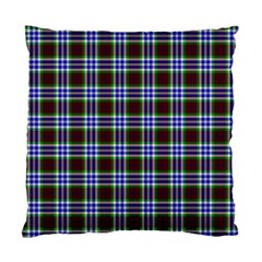 Tartan Fabrik Plaid Color Rainbow Triangle Standard Cushion Case (two Sides) by Alisyart