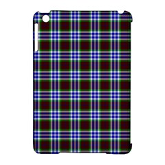Tartan Fabrik Plaid Color Rainbow Triangle Apple Ipad Mini Hardshell Case (compatible With Smart Cover) by Alisyart