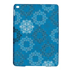 Flower Star Blue Sky Plaid White Froz Snow Ipad Air 2 Hardshell Cases by Alisyart