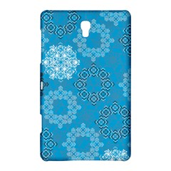 Flower Star Blue Sky Plaid White Froz Snow Samsung Galaxy Tab S (8 4 ) Hardshell Case  by Alisyart