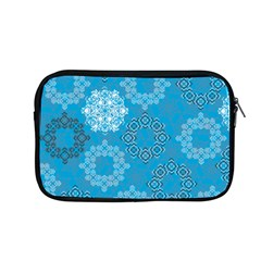 Flower Star Blue Sky Plaid White Froz Snow Apple Macbook Pro 13  Zipper Case by Alisyart