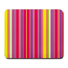 Stripes Colorful Background Large Mousepads