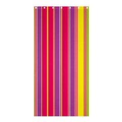 Stripes Colorful Background Shower Curtain 36  X 72  (stall)  by Simbadda