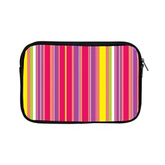 Stripes Colorful Background Apple Ipad Mini Zipper Cases by Simbadda