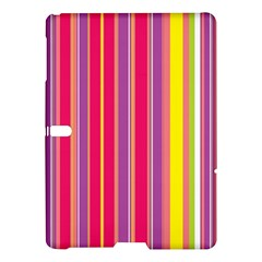 Stripes Colorful Background Samsung Galaxy Tab S (10 5 ) Hardshell Case  by Simbadda