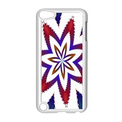 Fractal Flower Apple Ipod Touch 5 Case (white) by Simbadda