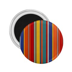 Stripes Background Colorful 2 25  Magnets