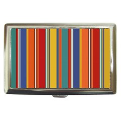 Stripes Background Colorful Cigarette Money Cases by Simbadda