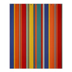 Stripes Background Colorful Shower Curtain 60  X 72  (medium)  by Simbadda