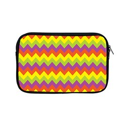 Colorful Zigzag Stripes Background Apple Macbook Pro 13  Zipper Case by Simbadda