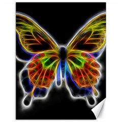 Fractal Butterfly Canvas 18  X 24   by Simbadda
