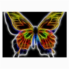 Fractal Butterfly Large Glasses Cloth (2 Side) by Simbadda