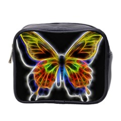 Fractal Butterfly Mini Toiletries Bag 2 Side by Simbadda